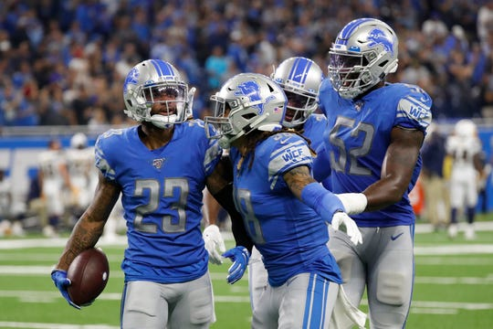 Darius Slay and the Lions' secondary match up well against the Eagles receiving corps.