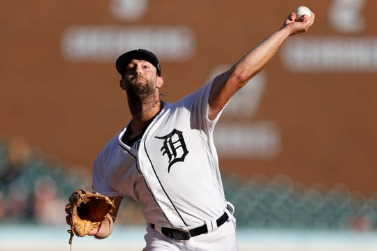 The Detroit Tigers' Daniel Norris pitches against the Baltimore Orioles during the first inning Saturday.