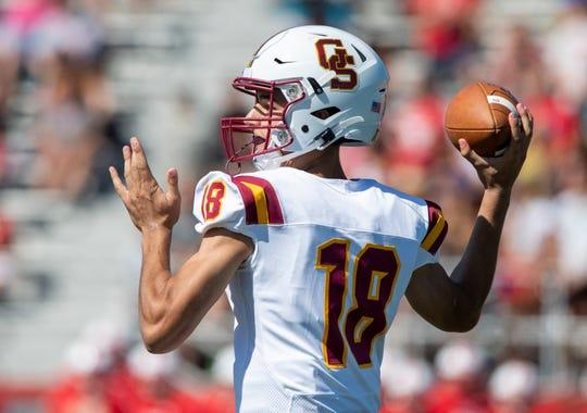 Gibson Southern quarterback Brady Allen.