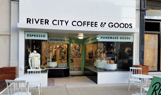 River City Coffee & Goods is located on trendy Main Street.