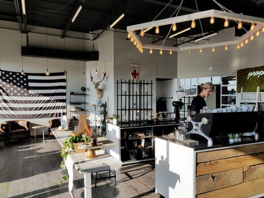 Proper Coffee Roasters is a cutting-edge coffee shop on Evansville's east side.