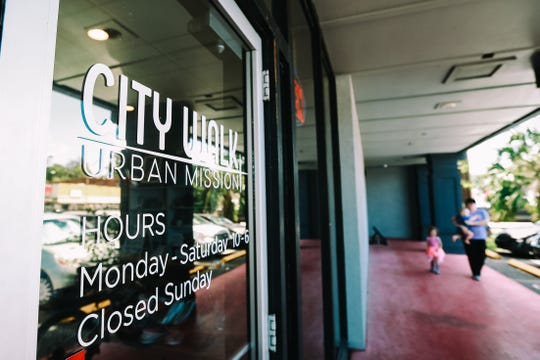City Walk Urban Mission, a Tallahassee-based outreach ministry, run a thrift store to help the homeless and those in need.
