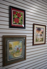Kay Foote recently moved to Cape Coral. She is having an exhibit at Cape Coral's Harbour View Gallery in October.