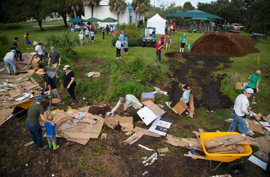 OneTree.org and volunteers planted hundreds of native trees on six acres of land belonging to Temple Beth El in south Fort Myers on Saturday. The new Temple Preserve & Memorial Gardens will be located alongside the Crown Colony golf course and the Stonebridge neighborhood. OneTree.org, a local nonprofit, led the effort.