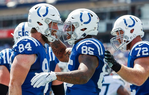 Colts rally for victory, bail out Pat McAfee and Reggie Wayne trash talk at NFL Draft