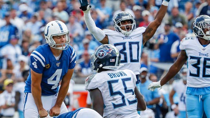 Opinion: Did we just watch the final kicks of Indianapolis Colts kicker Adam Vinatieri?