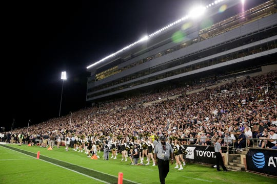 Ross-Ade Stadium during the second quarter of a NCAA football game, Saturday, Sept. 14, 2019 at Ross-Ade Stadium in West Lafayette. Texas Christian University won, 34-13.