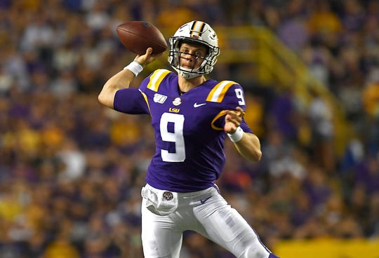 pretty nice 89f5d 81507 LSU football wears purple uniforms rarely in back-to-back games