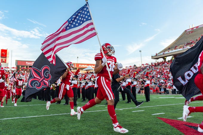 Louisiana Ragin Cajuns take on Texas Southern. Saturday, Sept. 14, 2019.