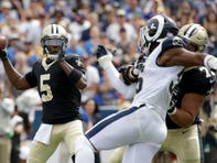Saints snap counts: Injuries take their toll in New Orleans' 27-9 loss to the Rams