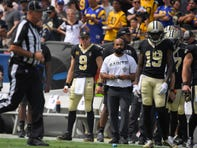 Rapid Reaction: Saints look lost without Drew Brees, falling 27-9 in Los Angeles