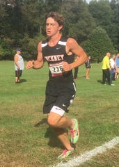 Pinckney junior Gavin White was ninth in 16:14.5, leading the Pirates to a third-place finish in the Holly/Duane Raffin Festival of Races.