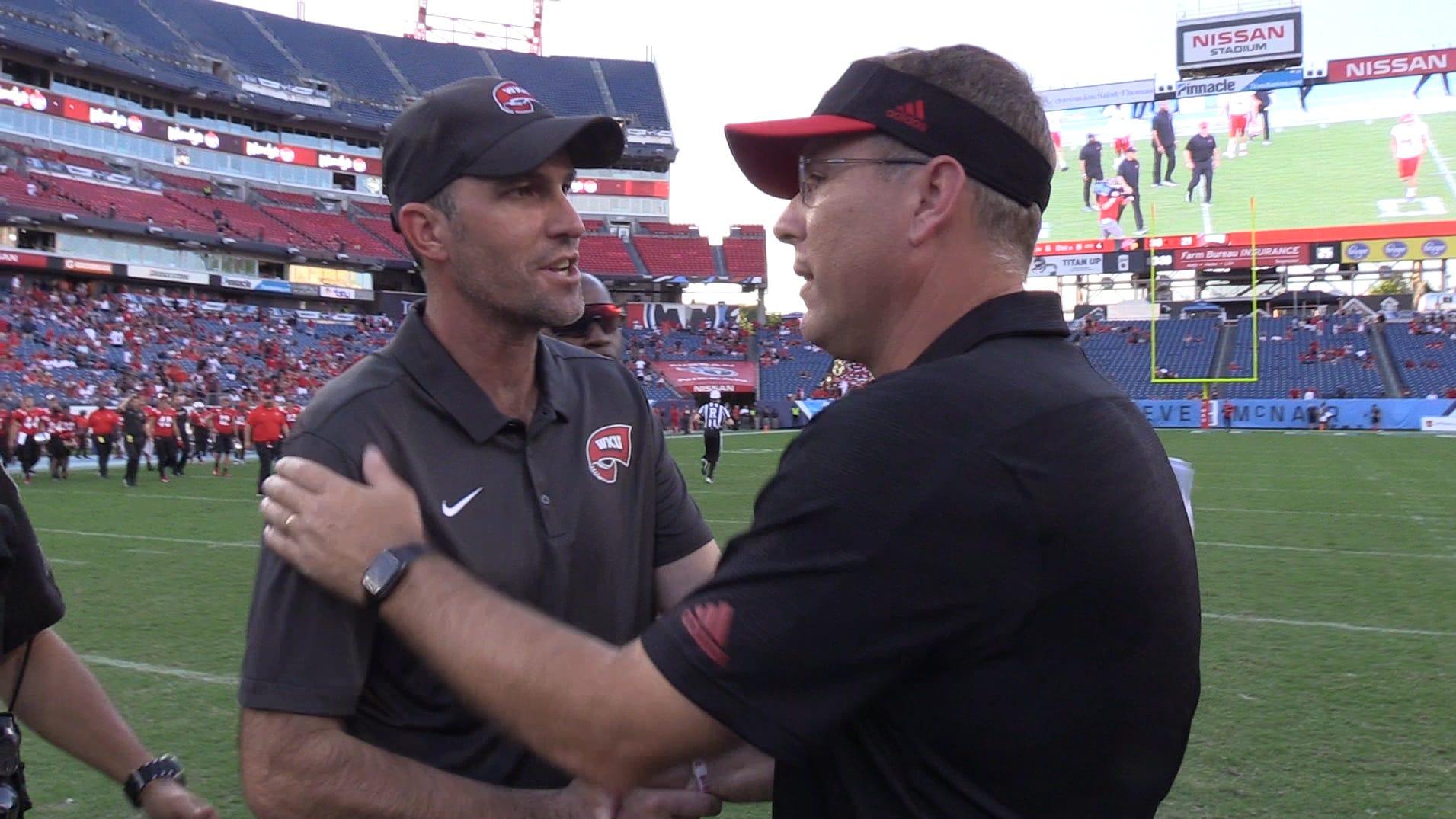 Louisville football vs. WKU: What coach Tyson Helton is saying