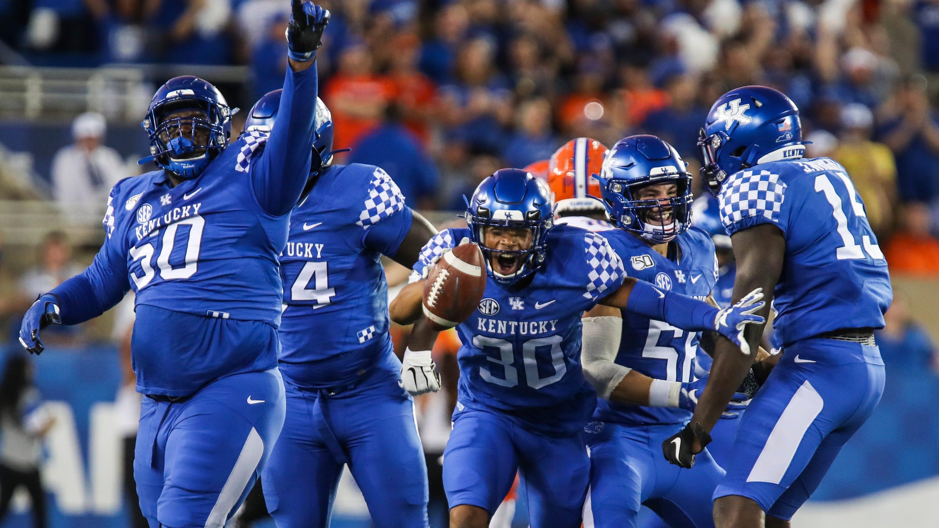 Kentucky football vs. Florida: Live score, updates and highlights