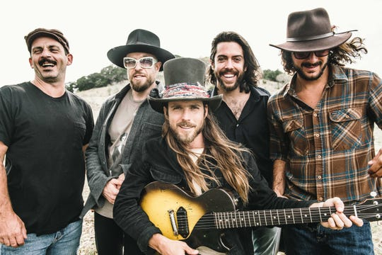 Wauwatosa's Logan Metz (back row, second from right) joined Lukas Nelson and Promise of the Real last year. He plays keyboards and lap steel.