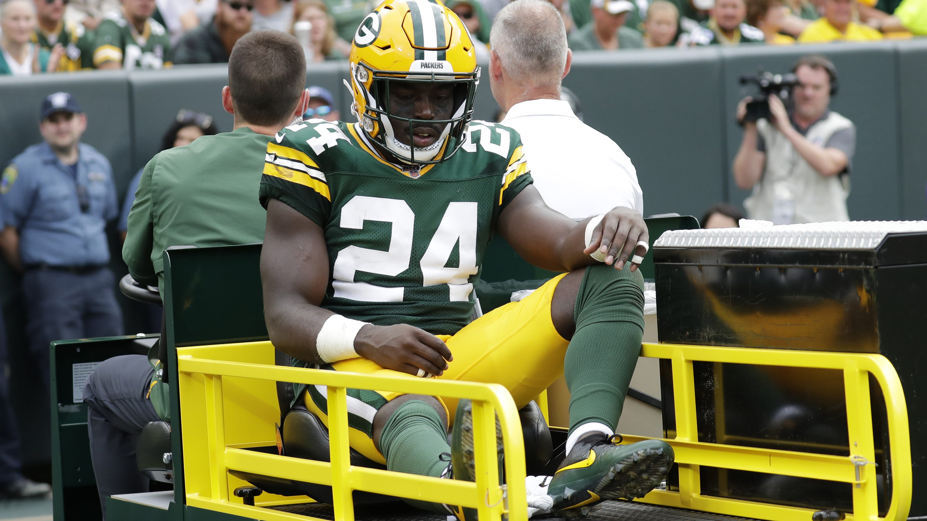 buy popular 8a7f4 fa979 Packers put Raven Greene on injured reserve with ankle injury