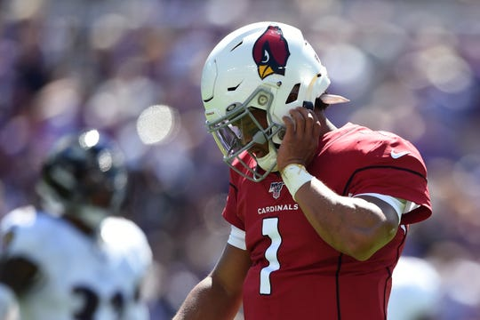 Cardinals can't solve Lamar Jackson, find enough red-zone success in loss to Ravens