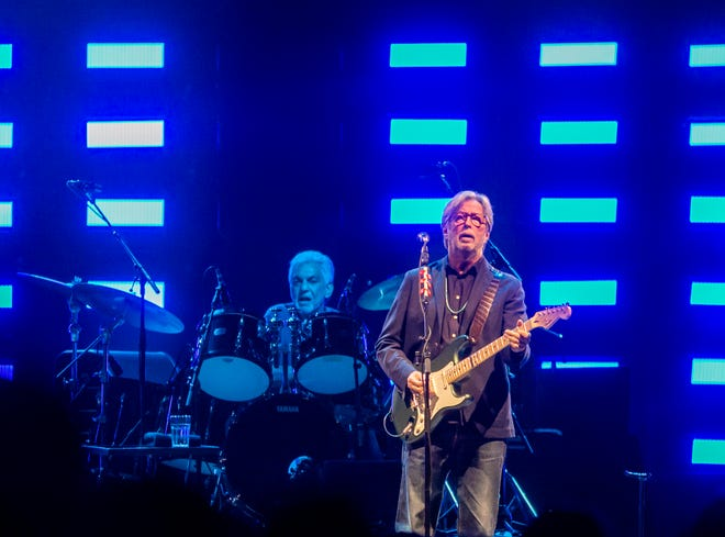 Eric Clapton preforms at Talking Stick Resort Arena on Sat. Sept 14 in Phoenix.
