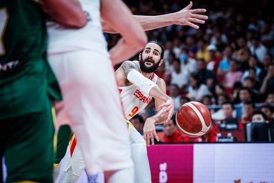 Ricky Rubio won tournament MVP honors in the 2019 FIBA World Cup.