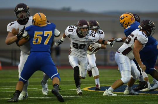 Max Kalb and Shippensburg look like the class of Franklin County football heading into Week 5.