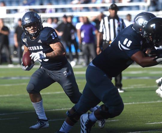 Nevada beat Weber State, 19-13, on Saturday at Mackay Stadium.