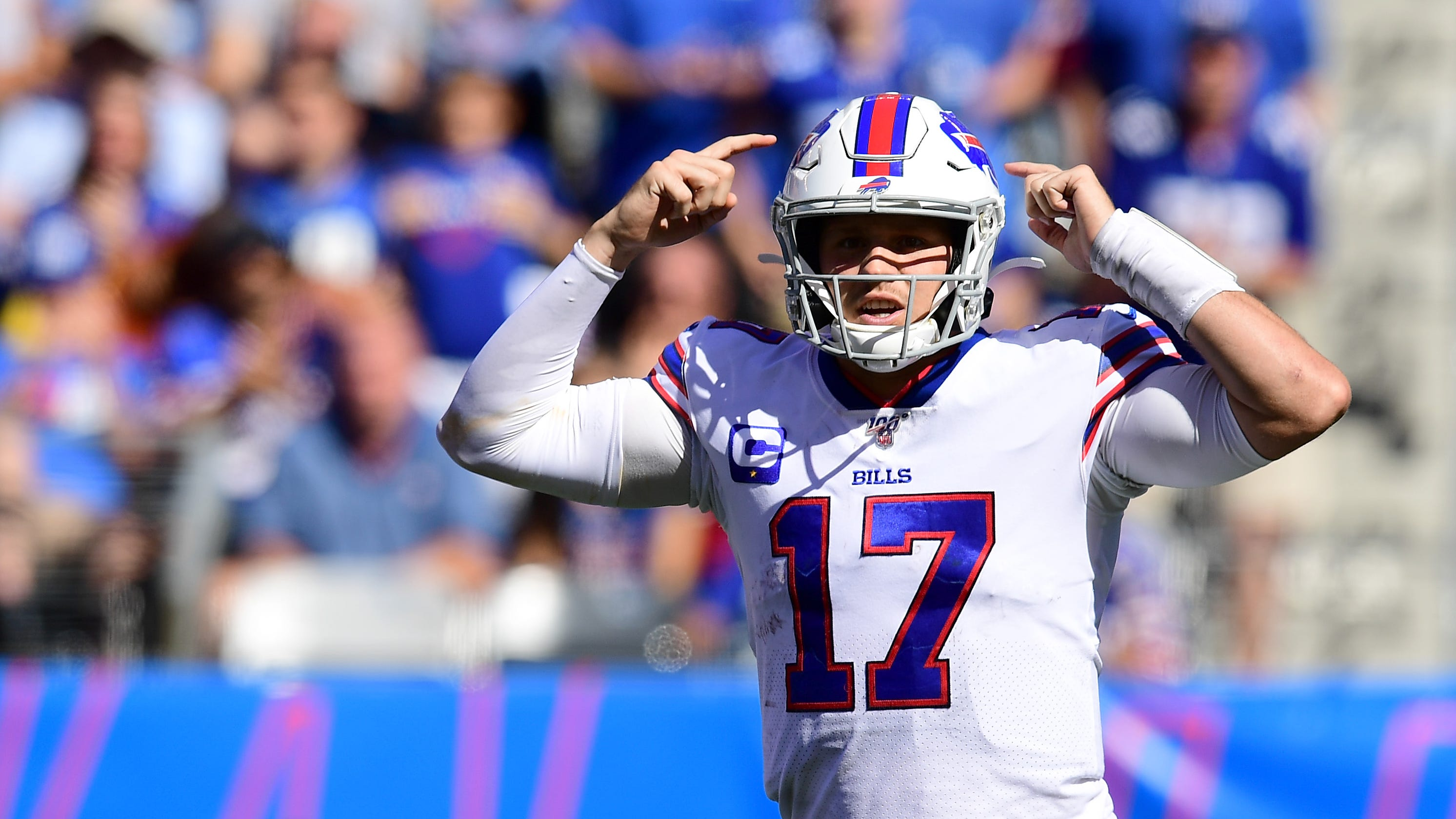factory price c83d4 dcde8 Buffalo Bills: Josh Allen makes Pat Shurmur eat words in win ...
