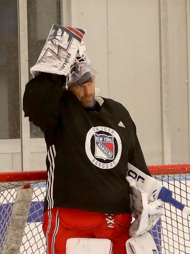 cheap for discount fef57 e85ab Recharged NY Rangers goalie Henrik Lundqvist reflects on ...