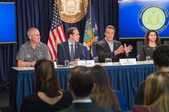 September 15, 2019- New York City- Governor Andrew M. Cuomo announces an emergency executive action to ban the sale of flavored electronic cigarettes in New York State. The Governor Cuomo also signed legislation to raise the age to purchase tobacco and electronic cigarette products from 18 to 21, effective November 13, 2019.