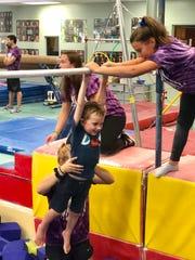 A special needs day was held at Galaxy Gymnastics in Orangeburg.