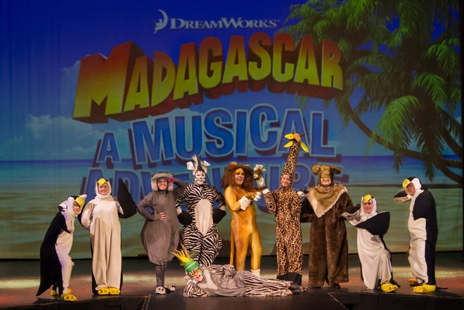 """Take a friend who loves to laugh to see """"Madagascar: A Musical Experience"""" at the Wichita Theatre, and you'll both be rolling in the aisles. Alex and his friends are onstage Saturdays and Sundays through Sept. 29 with matinee and evening showtimes. Call the Box Office for more information at 940-723-9037."""