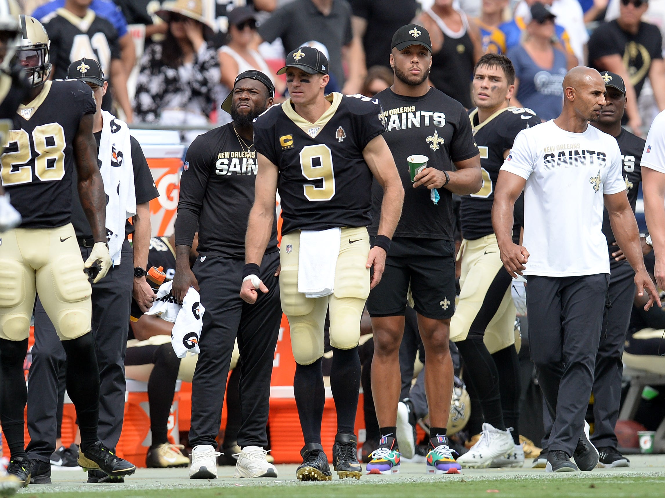 Opinion: Saints dealt more bad breaks with Drew Brees' injury, another blown call