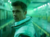 Brad Pitt's 'nether regions' felt the squeeze of his 'awkward' spacesuit in 'Ad Astra'