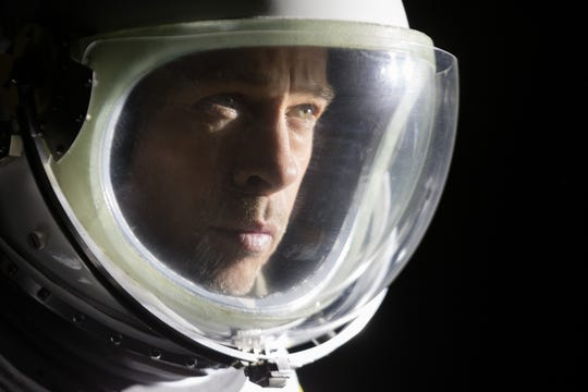 """Brad Pitt goes to space in director James Gray's """"Ad Astra."""""""