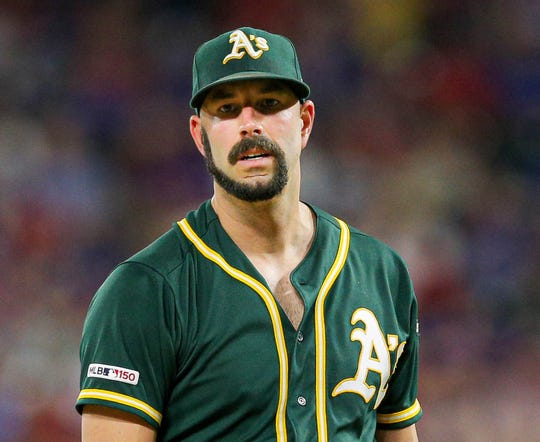 We couldn't make up that Mike Fiers facial hair if we tried.
