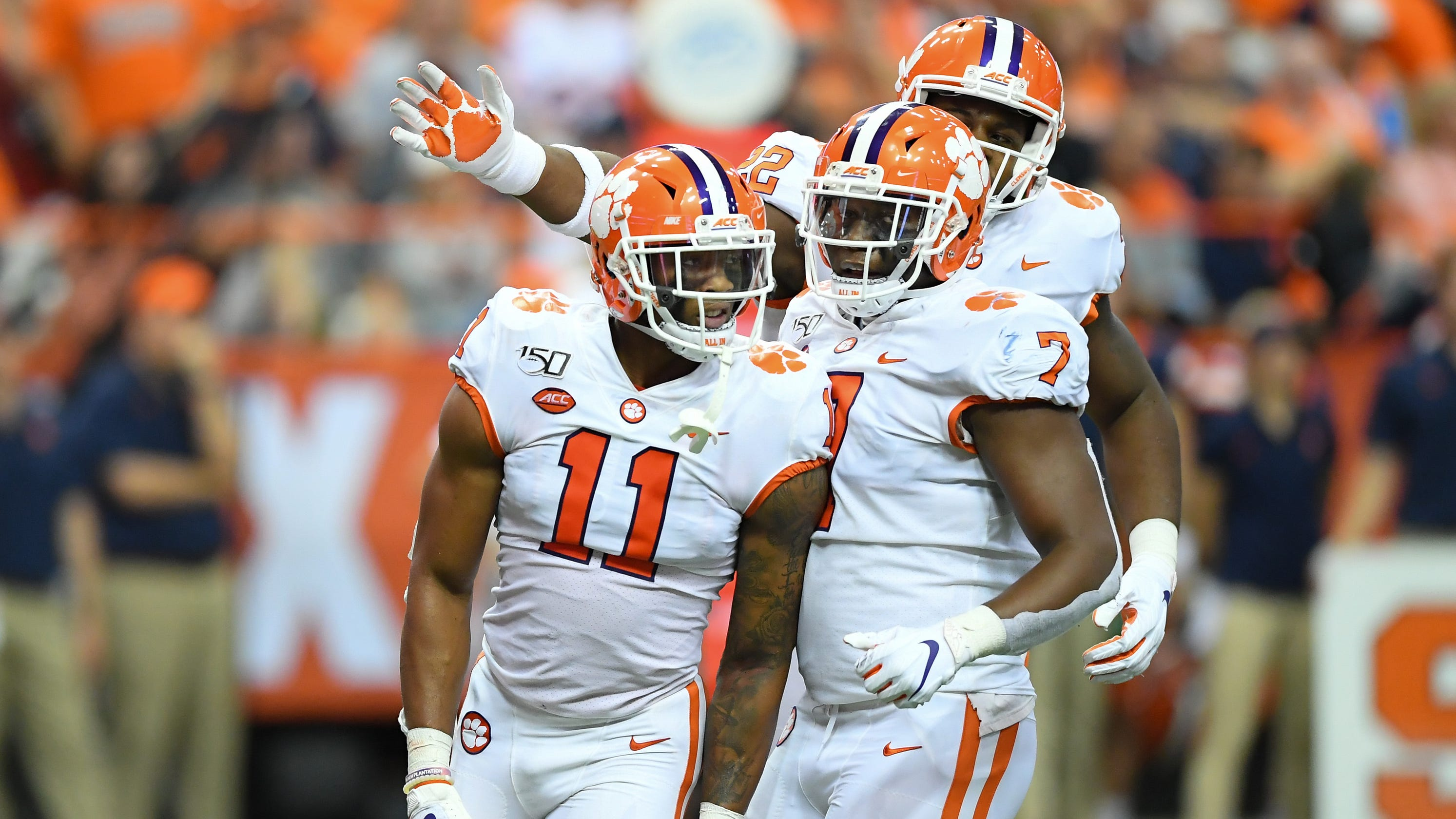 official photos 35b0c 047d7 College football: Clemson still team to beat for national ...