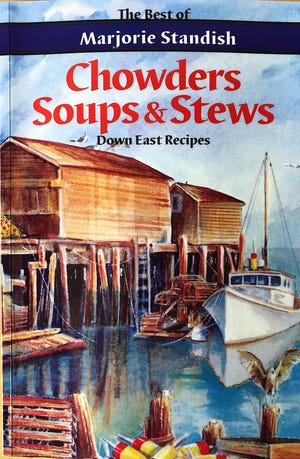 """""""Cowders, Soups & Stews"""" by Marjorie Standish (1988)"""
