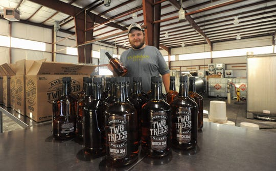 Two Trees Distilling Co. production manager Joe Ford  brings a background in craft spirits to his role at the Fletcher distillery.