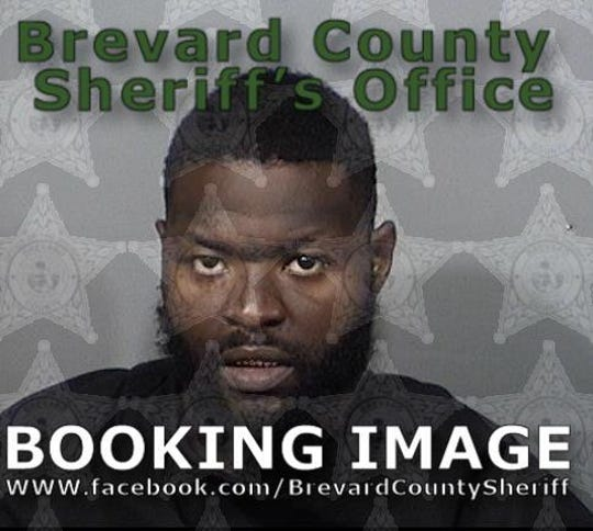 Vince White, 30, charged with felony fleeing and eluding police after a 100 mph chase through Melbourne and Palm Bay.