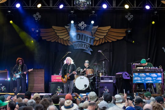 Gov't Mule plays during day 2 of the Grand Point North Music festival at Waterfront Park on Sunday, Sept. 15, 2019 in Burlington, Vermont.