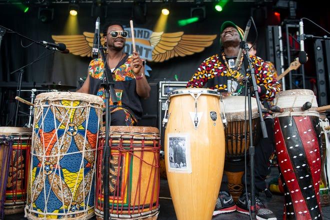 Sabouyouma toca durante el segundo día del Festival de Música Grand Point North en Waterfront Park el domingo 15 de septiembre de 2019 en Burlington, Vermont.