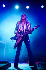 Grace Potter plays during day 1 of the Grand Point North Music festival at Waterfront park on Saturday, Sept. 14, 2019 in Burlington, Vermont.