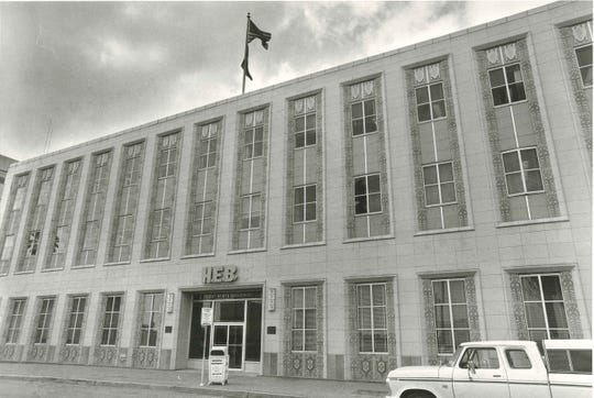 Caller-Times file HEB headquarters at 807 Upper North Broadway in 1978. North Beach businessman Lynn Frazier recently bought it from the Ed Rachal Foundation.