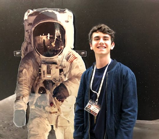 Noah Bergam of Short Hills, a junior at The Pingry School attended the STEM Enhancement in Earth Science (SEES) summer research internship program at The University of Texas at Austin's Center for Space Research.