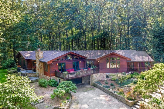 A15-room contemporary expanded ranch set on 15.8 acres in Bethlehem Township is for sale for $849,900.