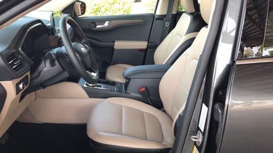 2020 Ford Escape Titanium interior