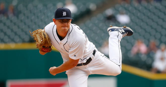 Tigers pitcher Tyler Alexander picked up his first MLB win earlier this week.