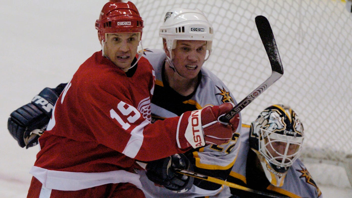 Autopsy: Ex-Red Wings center Greg Johnson died of self-inflicted gunshot wound