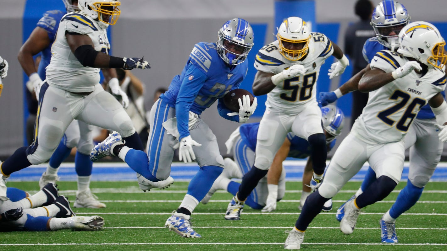 Niyo: Step by step, Ty Johnson heading toward more run with Lions