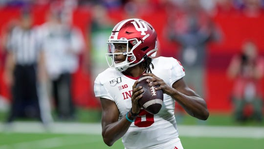 Indiana quarterback Michael Penix Jr. won his first two college starts —against Ball State and Eastern Illinois —before sitting out last weekend's 51-10 loss to Ohio State with an undisclosed injury.