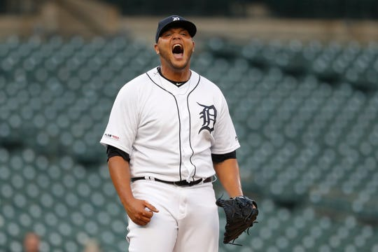 Joe Jimenez probably has the most promise among relievers in the Tigers organization, though he's had his ups and downs.
